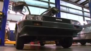 The iconic DeLorean sports car goes back into production
