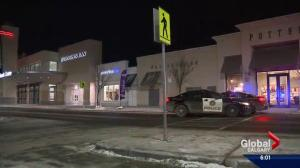Calgary police continue to look for suspects in mall robberies