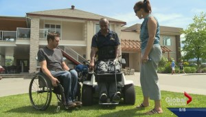 First of its kind golf wheelchair for the Okanagan