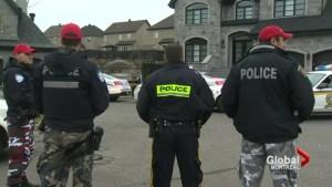 Police raids target organized crime