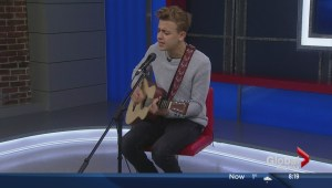 Scott Helman performs on The Morning News