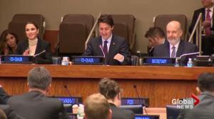 Trudeau aims to mend fences at UN, make pitch for seat on Security Council