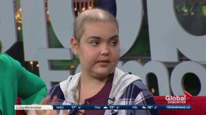 Kids with Cancer: Mackenzie, 14,  just finished leukemia treatment