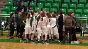 Saskatchewan Huskies basketball teams sweep playoff doubleheader