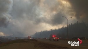 Fort McMurray Wildfire Reflection 1