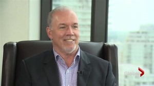 Extended: BC NDP leader John Horgan confident in the future