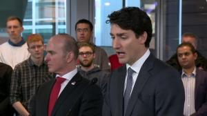 Trudeau says he will stand up for Canadian interests regardless of leader