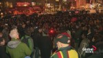 Vigil held in Montreal in support of Indigenous women