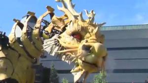Giant spiders and dragons invade Ottawa