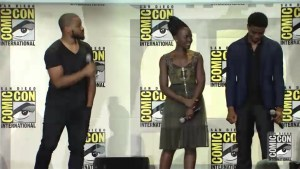 Chadwick Boseman, Michael B. Jordan, and Lupita Nyong'o talk Marvel's 'Black Panther'