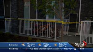Girl falls from Cranston window