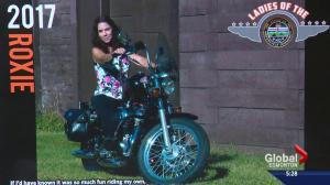 Motorcycle calendar raises funds for Alberta veterans