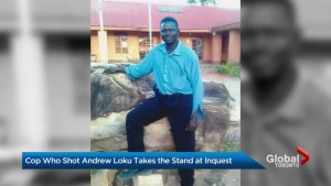 Toronto police officer who fatally shot Andrew Loku 2 years ago takes stand today at Coroner's inquest
