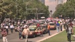 Taxi drivers protest for better regulation of Uber
