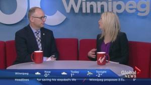 Winnipeg's preliminary budget break down on Global News Morning