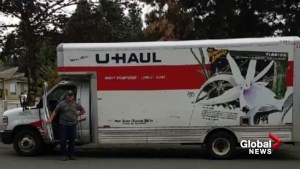 Calgarians step up to help family after U-Haul stolen