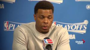 Raptors guard Kyle Lowry says team isn't satisfied with just making it to conference final