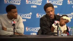 Toronto Raptors' DeMar DeRozan on winning game 7 vs. Heat: 'This organization deserves it'