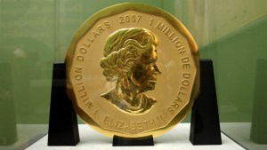 Canadian gold coin worth $6M stolen from Berlin museum
