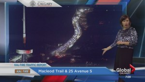 Lights out on Macleod Trail