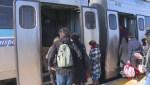 Double-decker AMT trains