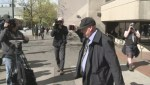 BC Paparazzo shoves waiting cameraman after court appearance