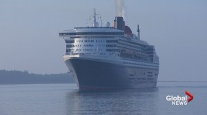 Luxury liner rescues sailor from severe Atlantic storm