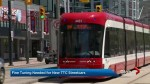 Part of the TTC's new streetcar fleet experiencing technical failures