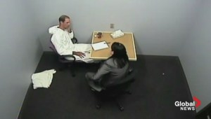 Video of suspect's police interview after death of Billy Powers, wife