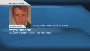 Extended interview: Father of Paul McKinnon speaks about death of son