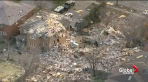 Investigators spent the day at scene of deadly explosion