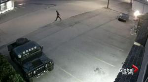 Police release images of Abbotsford OK Tire arson suspect