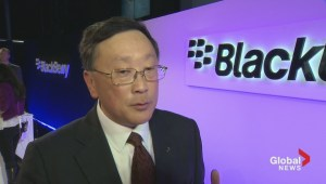 BlackBerry CEO John Chen discusses new Passport smartphone