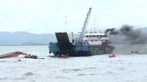 3 more bodies recovered from capsized ferry in Philippines