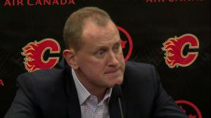 Calgary Flames GM offers no comment on Dennis Wideman lawsuit