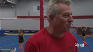 Promising gymnast
