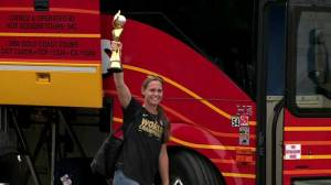 Americans return home brandishing World Cup trophy