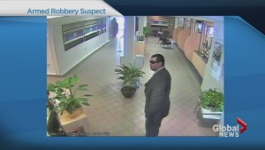 Bank robber suspect sought