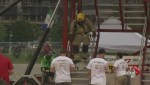Firefighters put skills to the test at Firefit Challenge