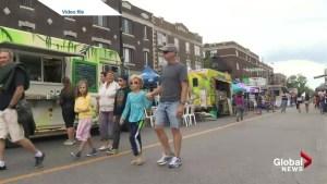 Monkland street festival problems