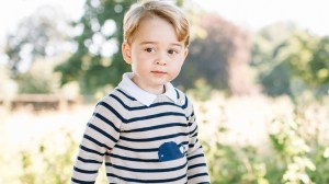 Photos released to mark Prince George's 3rd birthday