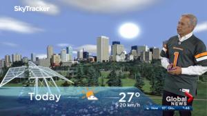 Edmonton early morning weather forecast: Friday, July 14, 2017