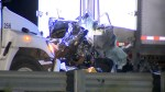 Aftermath of multi-vehicle collision on Hwy 401, 3 dead