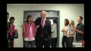 Red Deer high school's cancer support video goes viral