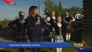 Teeing up the Canmore Highland Games