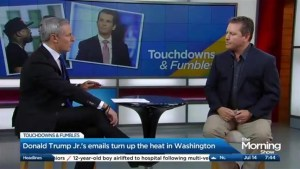 Donald Trump Jr.'s email strategy: Touchdown or Fumble?