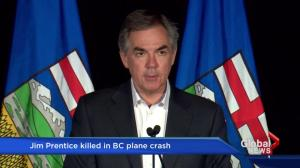 Jim Prentice's political career spanned four decades