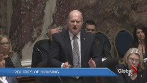 Housing a hot topic in B.C. legislature