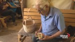 N.B. First Nations basket maker teaching his craft to boost his community's economy