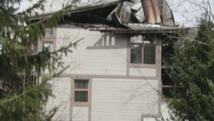 Whistler vacation rental complex goes up in flames